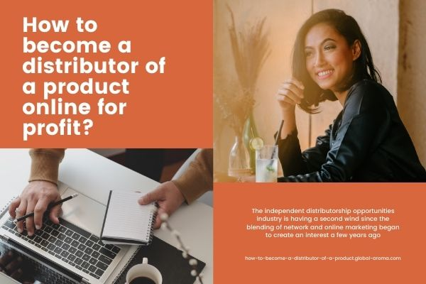 How to become a distributor of a product